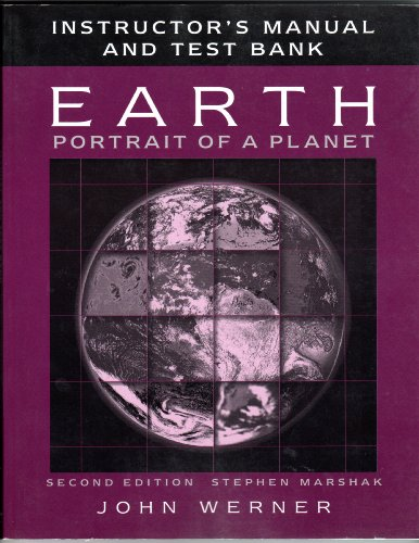 9780393926583: Earth: Instructor's Manual