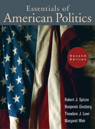 9780393926736: Essentials of American Politics (Second Edition)