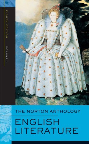 9780393927139: The Norton Anthology of English Literature, Vol. 1: The Middle Ages through the Restoration and the Eighteenth Century (8th Edition)