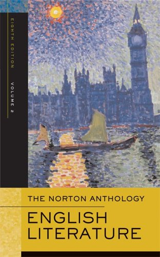9780393927153: The Norton Anthology of English Literature, Vol. 2: The Romantic Period through the Twentieth Century (8th Edition)