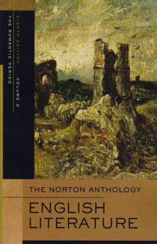 9780393927207: The Norton Anthology of English Literature: Romantic: D