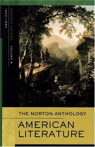 9780393927405: Norton Anthology of American Literature: 1820-1865: B