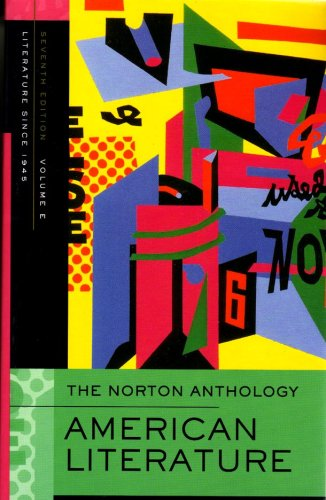 9780393927436: Norton Anthology of American Literature. Vol. E: 1945 to Present: 1945 to Present v. E