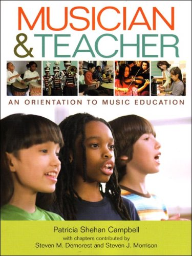 9780393927566: Musician & Teacher: An Orientation to Music Education