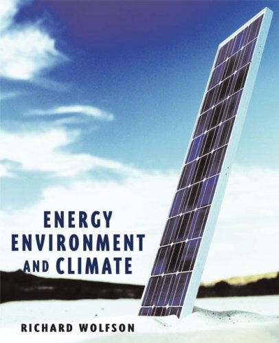 9780393927634: Energy, Environment, and Climate