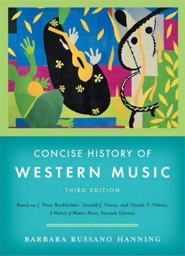 9780393928037: Concise History of Western Music, Third Edition