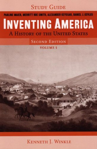 9780393928259: Study Guide: for Inventing America: A History of the United States, Second Edition (Vol. 1)