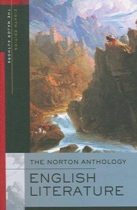 9780393928280: The Norton Anthology of English Literature, Major Authors Edtion