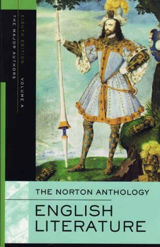 9780393928303: The Norton Anthology of English Literature, Volume A: The Middle Ages through the Restoration and the Eighteenth Century