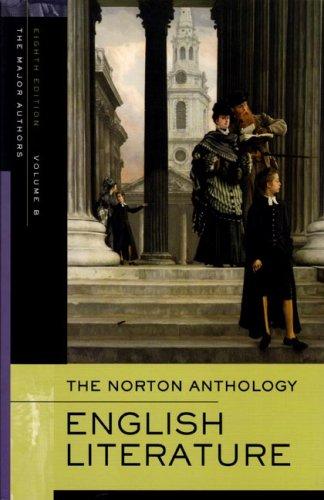 The Norton Anthology of English Literature, Vol.: Editor-Stephen Greenblatt; Editor-M.