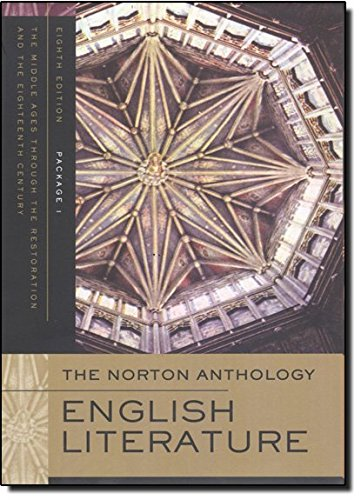 9780393928334: The Norton Anthology of English Literature (Eighth Edition) (Vol. Package 1: A, B, C)