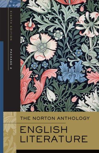 The Norton Anthology of English Literature, Volumes: Abrams, M. H.