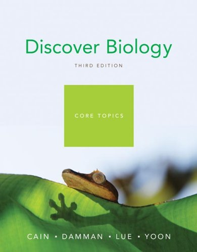 9780393928433: Discover Biology, Core Topics, Third Edition