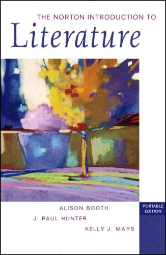 9780393928563: The Norton Introduction to Literature (Portable Edition)