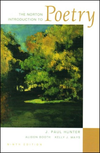 9780393928570: The Norton Introduction to Poetry
