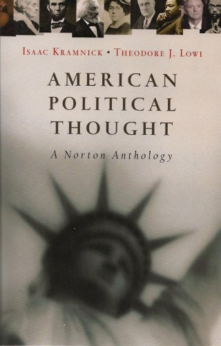 9780393928860: American Political Thought: A Norton Anthology