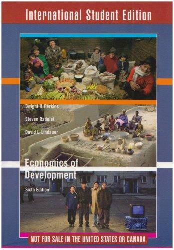 9780393929096: Economics of Development (Sixth International Student Edition)