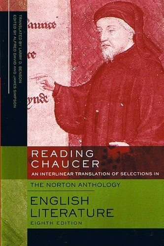 9780393929140: Reading Chaucer: An Interlinear Translation of Selections in The Norton Antology of English Literature, 8th Edition