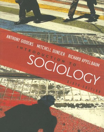 9780393929218: Introduction to Sociology, 6th Edition
