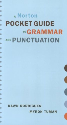 9780393929379: A Norton Pocket Guide to Grammar and Punctuation (Norton Pocket Guides)