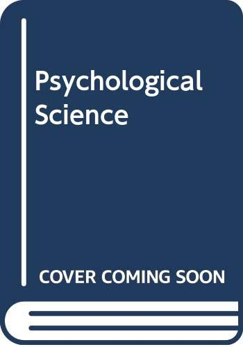 Psychological Science: Michael S. Gazzaniga,