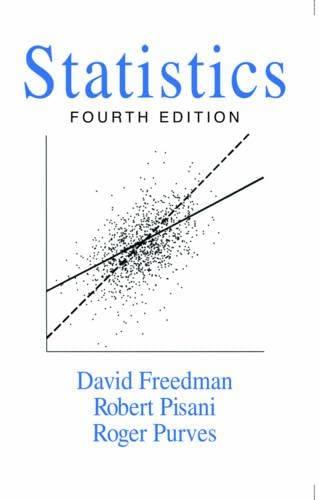 Statistics ( 4th Edition ): David Freedman ,