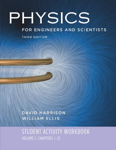 9780393929751: Student Activity Workbook: for Physics for Engineers and Scientists, Third Edition (Vol. 1)