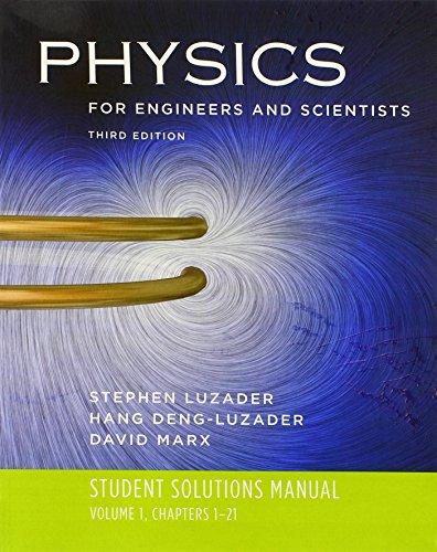 9780393929799: Physics 3e V 1 Student Solutions Manual