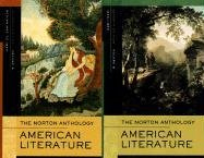 9780393929935: Norton Anthology of American Literature. Vols. A / B. Package 1: v. A & B