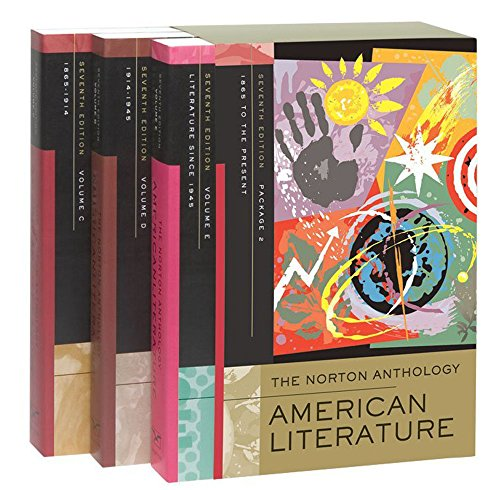 9780393929942: c,d,e: Norton anthology of american literature: v. C, D & E