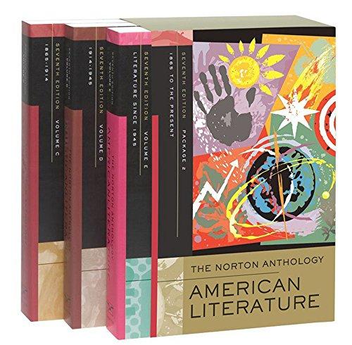 9780393929942: Norton Anthology of American Literature: c,d,e