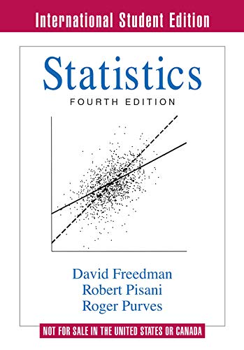 9780393930436: Statistics (Fourth International Student Edition)