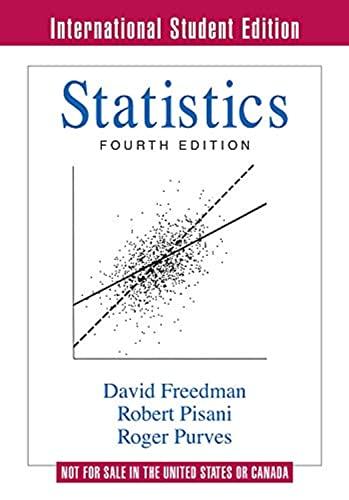 9780393930436: Statistics (Fourth International Student Edition)