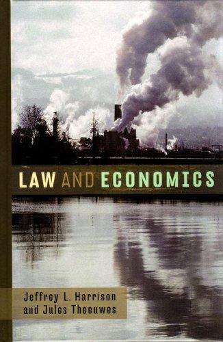 Law and Economics: Jeffrey L. Harrison, Jules Theeuwes