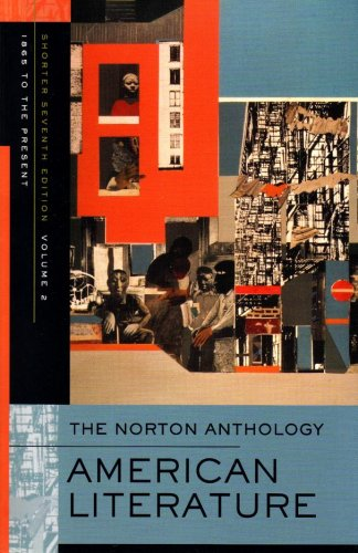 9780393930559: The Norton Anthology: American Literature, Volume 2: 1865 to the Present