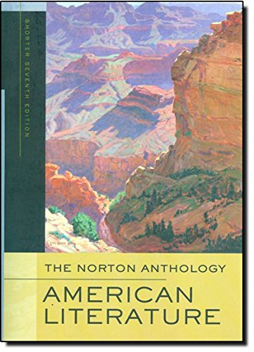 9780393930573: The Norton Anthology of American Literature. Shorter Edition