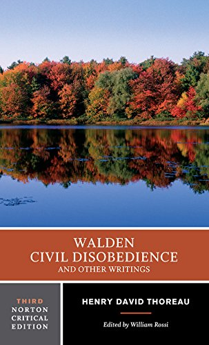 9780393930900: Walden / Civil Disobedience / and Other Writings (Norton Critical Editions)