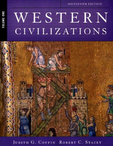 9780393930979: Western Civilizations: Their History & Their Culture (Sixteenth Edition) (Vol. 1)