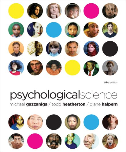 9780393931198: Psychological Science (Third Edition)