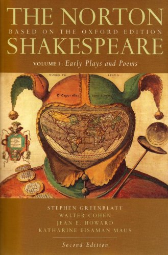 9780393931440: The Norton Shakespeare: Based on the Oxford Edition (Second Edition) (Vol. 1: Early Plays and Poems)