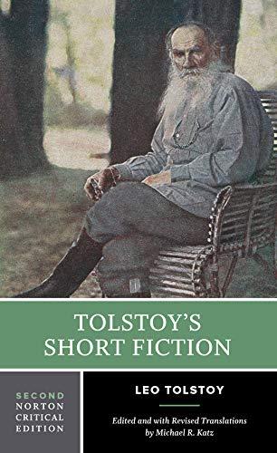 9780393931501: Tolstoy's Short Fiction (Norton Critical Editions)