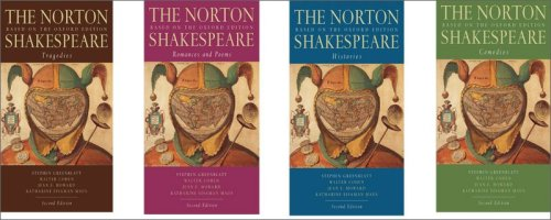 9780393931525: The Norton Shakespeare: Based on the Oxford Edition (Second Edition) (Vol. Four-Volume Genre Paperback Set)