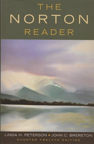 9780393931730: The Norton Reader: An Anthology of Nonfiction (Shorter Twelfth Edition)