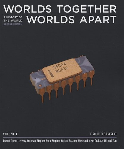9780393932102: Worlds Together, Worlds Apart: A History of the World from the Beginnings of Humankind to the Present (Second Edition) (Vol. C: 1750 to Present)