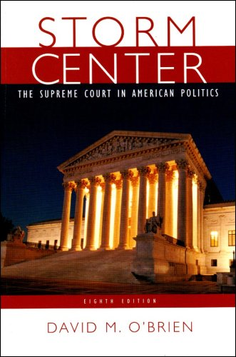 9780393932188: Storm Center: The Supreme Court in American Politics, Eighth Edition