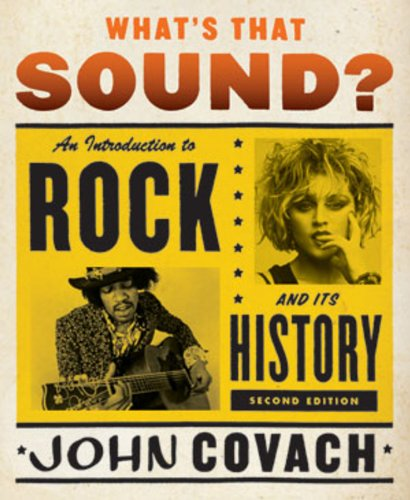 9780393932294: What's That Sound?: An Introduction to Rock and Its History