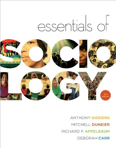 Essentials of Sociology (Third Edition): Anthony Giddens, Mitchell