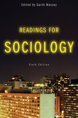 9780393932447: Readings for Sociology, Sixth Edition