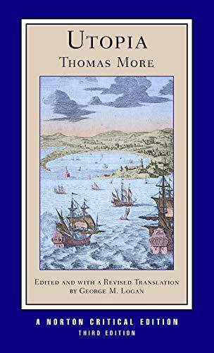9780393932461: Utopia (Norton Critical Editions)