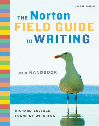 9780393932478: The Norton Field Guide to Writing: With Handbook